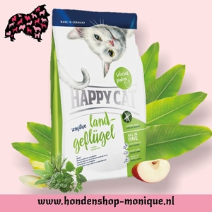Happy Cat Sensitive  Land Geflugel 4  kg.