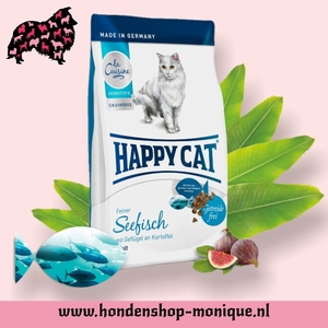 Happy Cat Sensitive grainfrei  Seefisch 4 kg.
