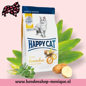 Happy Cat Sensitive Grainfrei  Kaninchen 4  kg.