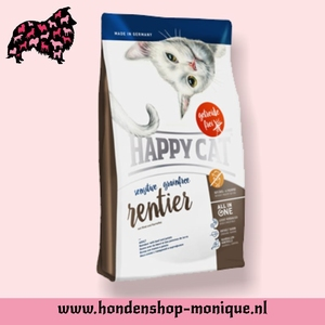 Happy Cat Sensitive Grainfrei Rentier 4  kg.