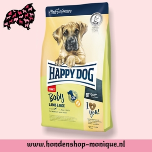 Happy dog baby lamb and rice 4 kg.